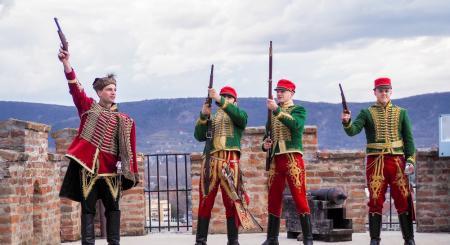 A Siklósi Vár Március 15-i ünnepségének képes beszámolója