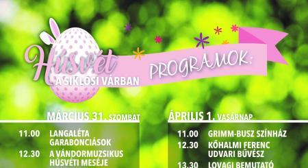 Húsvét a Siklósi Várban 2018. április 1-én
