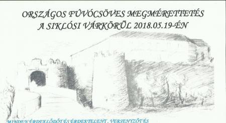 Országos fúvócsöves megmérettetés a Siklósi Vár körül