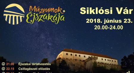 Múzeumok Éjszakája a Siklósi Várban