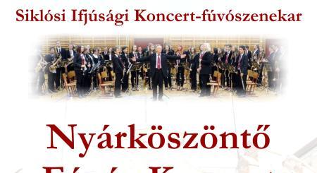 Nyárköszöntő Fúvós Koncert a Siklósi Várban