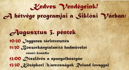 Ördögkatlan hétvége a Siklósi Várban