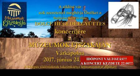Múzeumok Éjszkája a Siklósi Várban 2017-ben is!