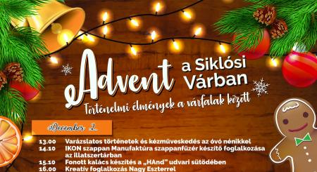 Advent a Siklósi Várban 2018-ban is!