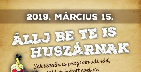 Március 15-i ünnepi programok a Siklósi Várban 2019-ben